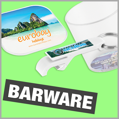 Promotional Barware with no MOQ
